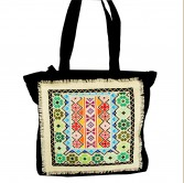 Handmade embroidered Cotton Bag