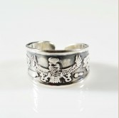 Isis Silver Ring