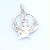 Isis Silver Pendant