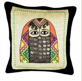 Bedouin Modern Embroidered Cushion Cover